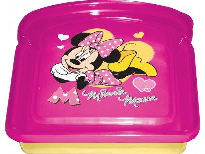 Svačinový box Minnie 14 x 14 cm DISNEY