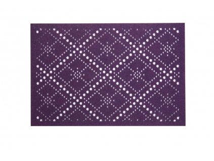 Podložka na stůl z plsti Pretty Violet Romby 45 x 30 cm AMBITION