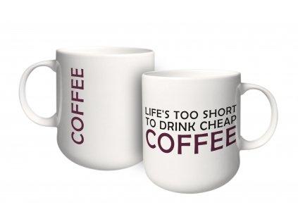 Porcelánový hrnek Happy Coffee 460 ml AMBITION