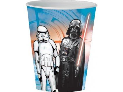 Kelímek / sklenice Star Wars 3D 350 ml DISNEY