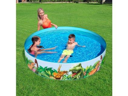 Nadzemní bazén Dinosaurous 183 x 38 cm BESTWAY