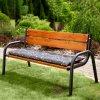 Sedák na zahradní lavici G001-07PB 150 x 49 x 6 cm PATIO