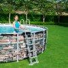 Nadzemní bazén Power Steel 549 x 132  cm,  26000 l BESTWAY