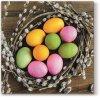 Sada 20 Velikonočních ubrousků Kraslice VI 33 x 33 cm