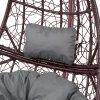 Záhlavní polštář na závěsné křeslo 20 x 32 x 10 cm D031-26CW PATIO