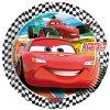 Sada 8 papírových talířů Cars 2 RSN 20 cm DISNEY