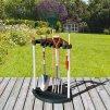 Stojan na zahradní nářadí Corner Tool Rack Black 56,5 x 88,5 cm KETER