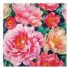 Sada 20 ubrousků Peonies Bloom 33 x 33 cm PAW
