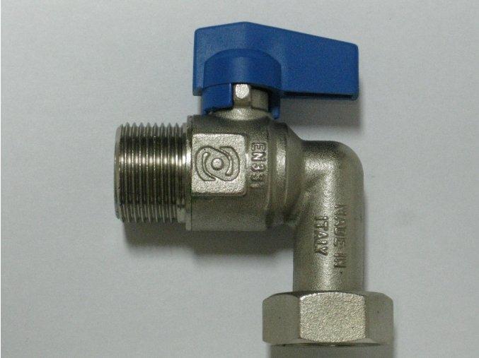 """890-0010 Rohový kohout bez filtru 3/4"""" - modrý"""
