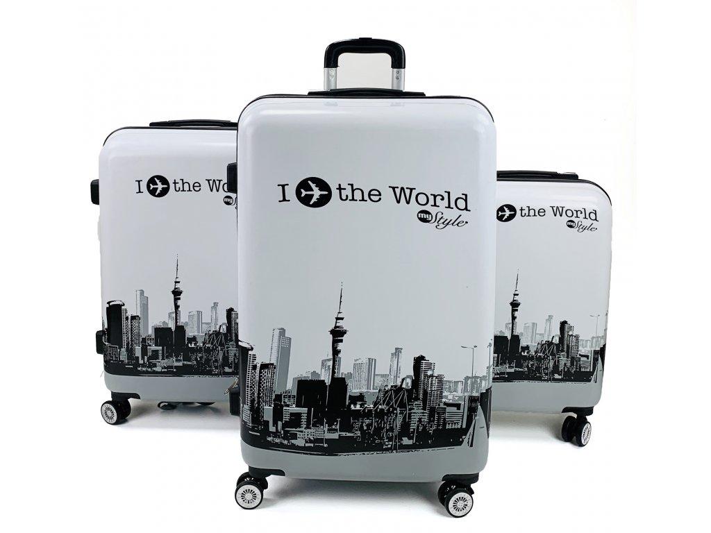 132575 cestovni skorepinovy kufr i travel the world sada 3ks