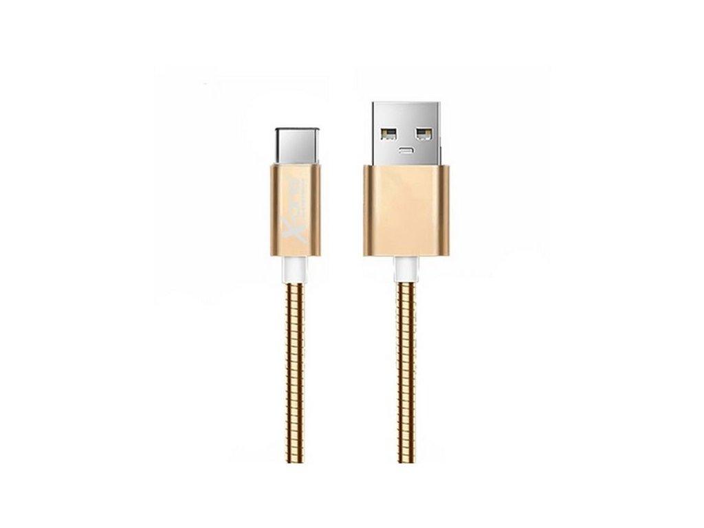 129209 kabel usb a 2 0 na usb c ref 101097 ruzove zlata