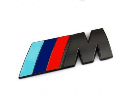 3D Znak BMW M (Barva Stříbrná)