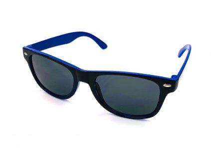 132485 detske slunecni bryle wayfarer dvoubarevne modre