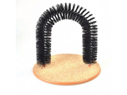NEW Purrfect ARCH Cat Self Shedding Groomer