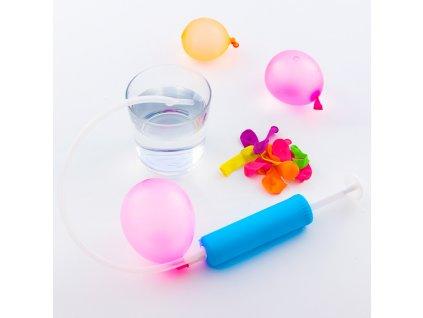 10897 vodni balonky s rucni pumpou 30 kusu