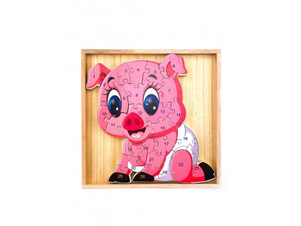 124745 1 vzdelavaci puzzle prasatko