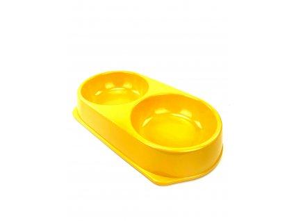 134045 plastova miska zluta 30 cm