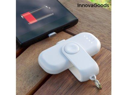 Univerzálna Magnetická Powerbanka InnovaGoods 1000 mAh