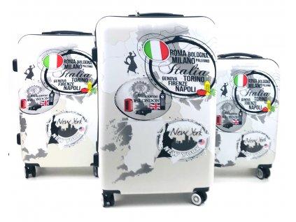 136727 cestovni skorepinovy kufr italska vlajka sada 3ks