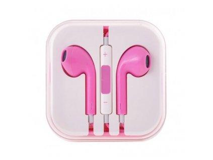 sluchatka earpods pro apple iphoneipad ruzova