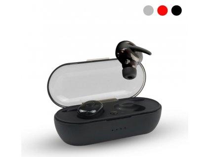 Bezdrátová bluetooth sluchátka TWS AKZ-W4 (Opicka Šedá)