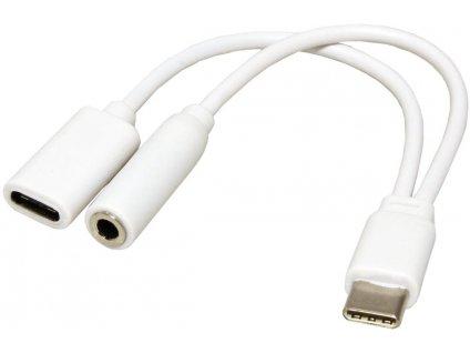 Kábel USB-C + Jack + Lightning