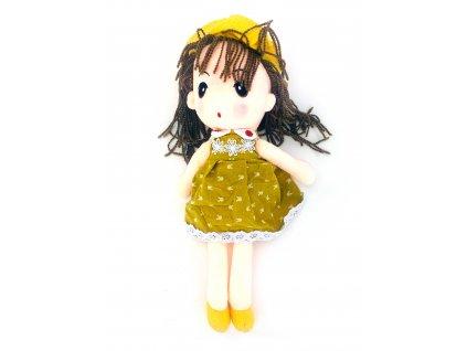 Plyšová bábika v klobúku (50 cm)