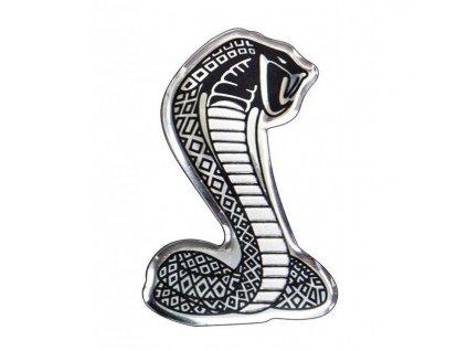 hlinikove samolepici 3d logo kobry avisa 2 33308