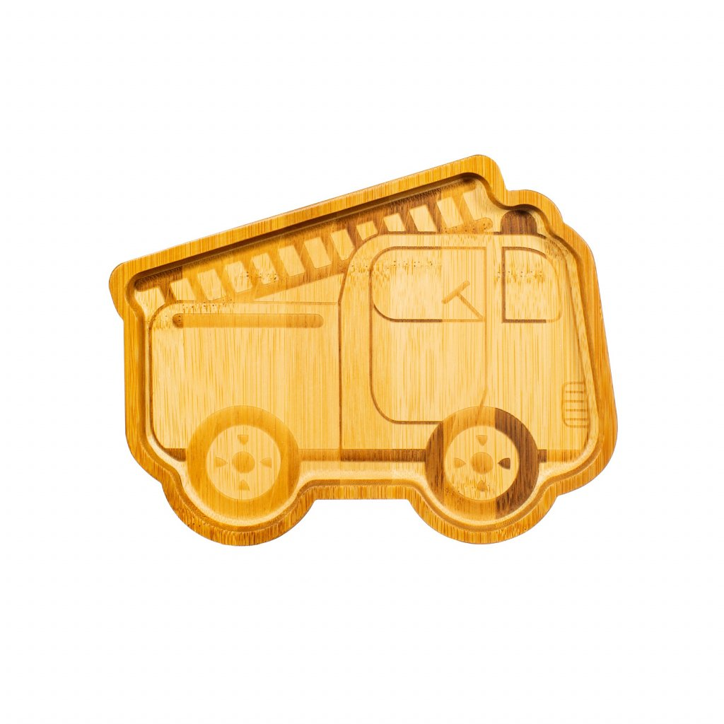 JQY030 A Bamboo Fire Engine Plate