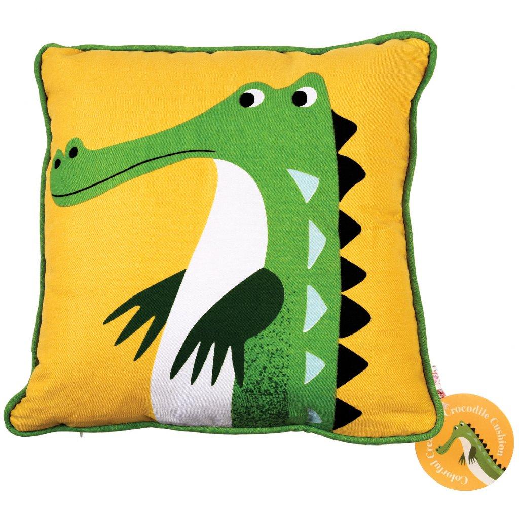 1341 1 detsky zluty polstar s krokodylem harry the crocodile