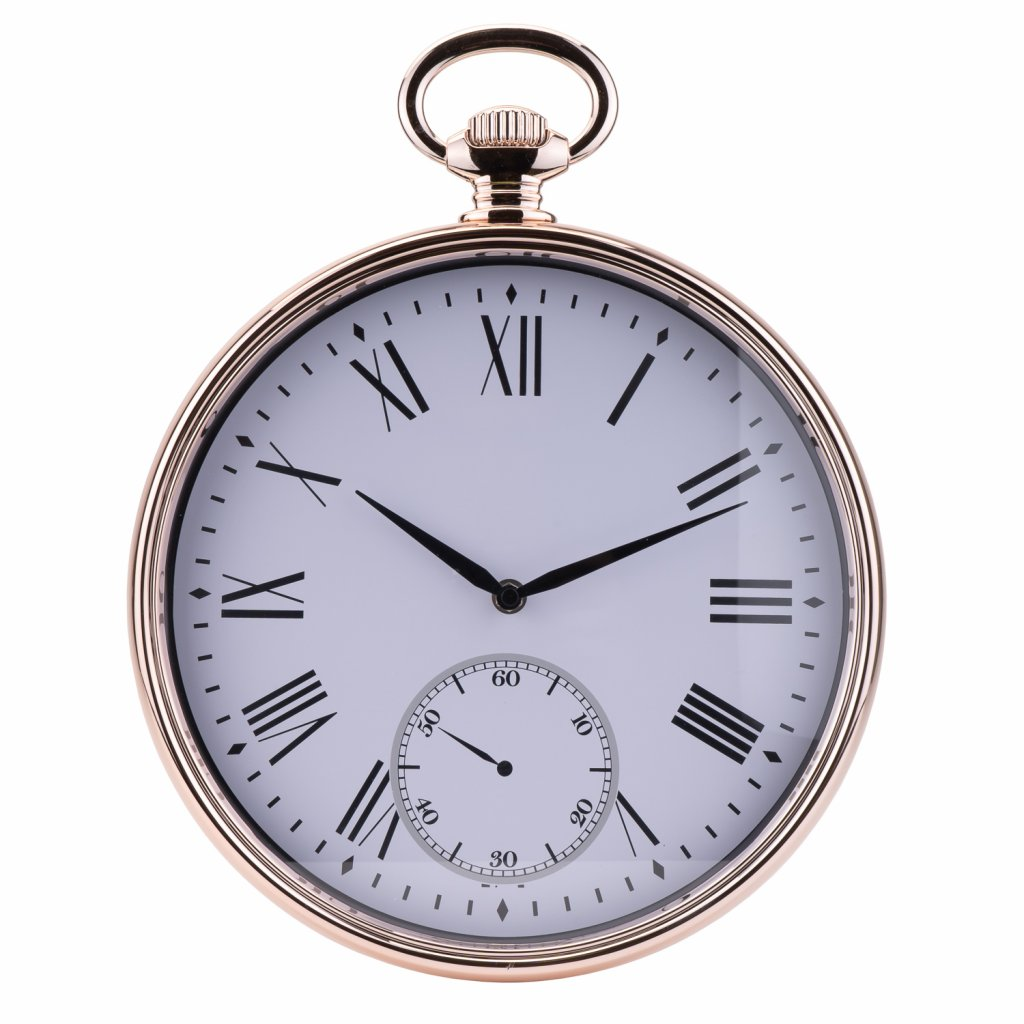221 2 nastenne hodiny s barvou ruzoveho zlata