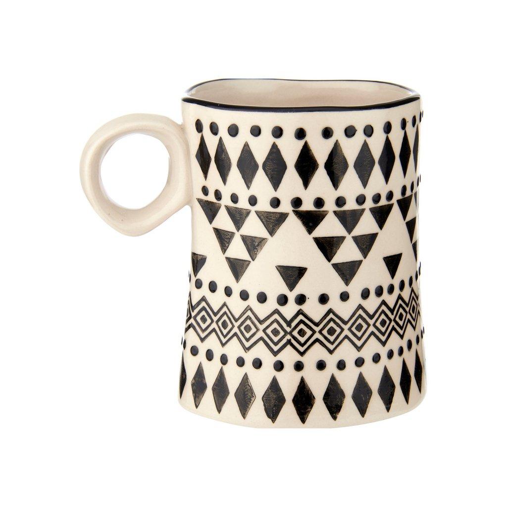 IDA086 A Scandi Boho Wobbly Mug