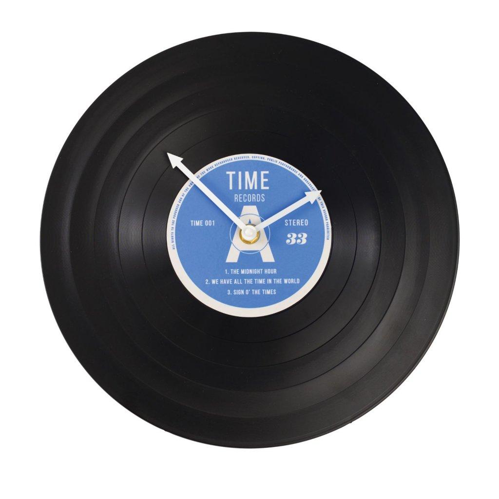 4593 4 4593 1 nastenne hodiny ve tvaru gramofonove desky