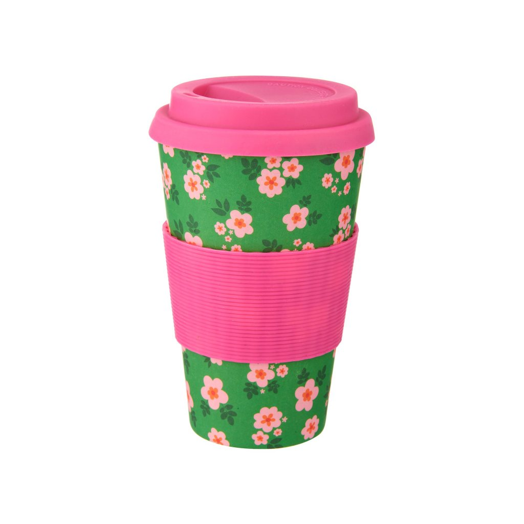 ZOE053 Frida Bamboo Coffee Cup Front