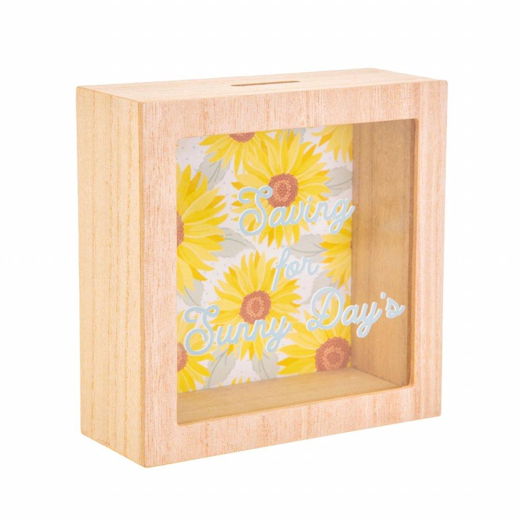 5168 2 ad218 b sunflower sunny days money box side