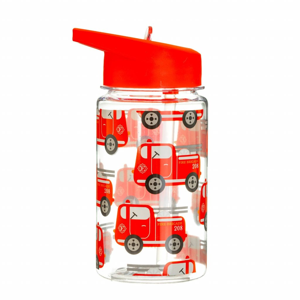 5285 4 zip044 a drink up fire engine water bottle