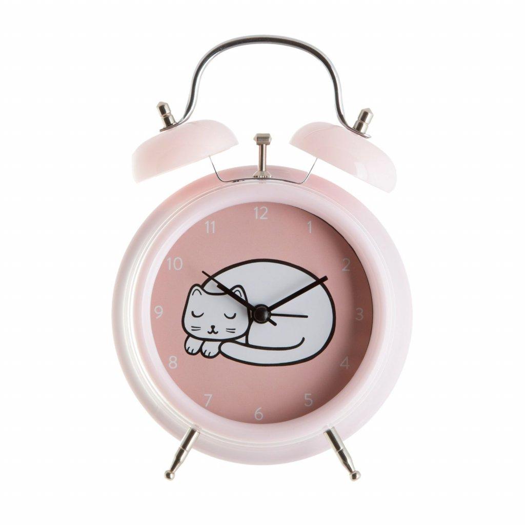 5372 6 clock001 a cutiecat alarmclock front