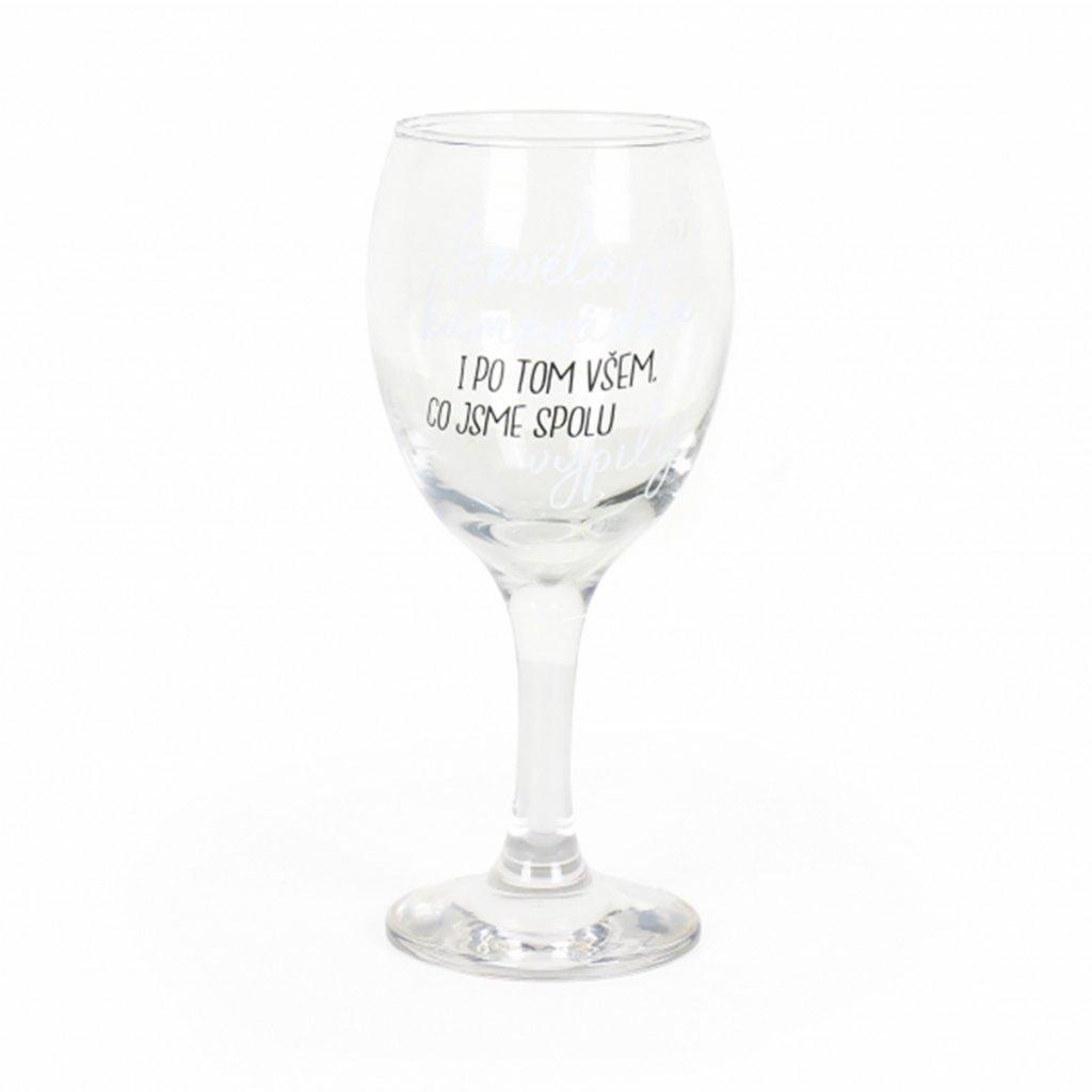 sklenice kamaradka