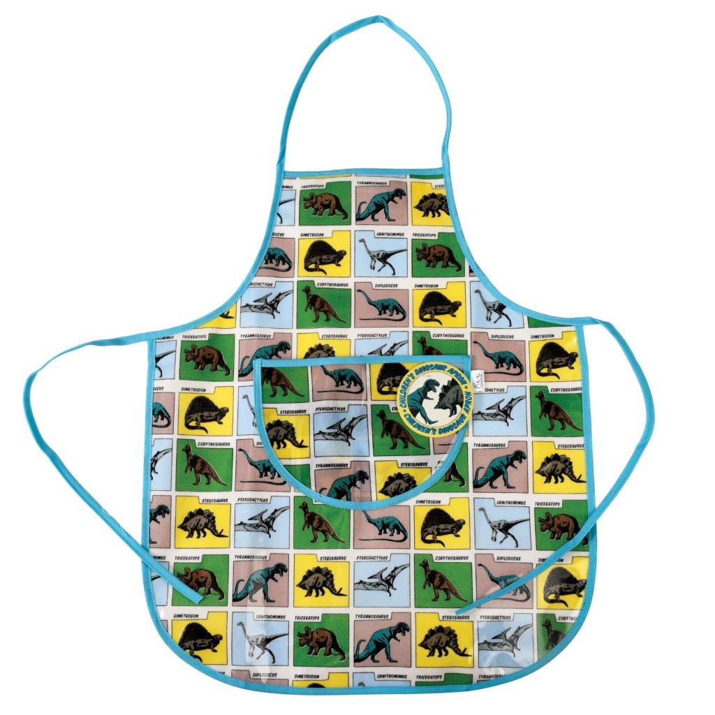 6197 detska kuchynska zastera s motivem dinosauru prehistoric land