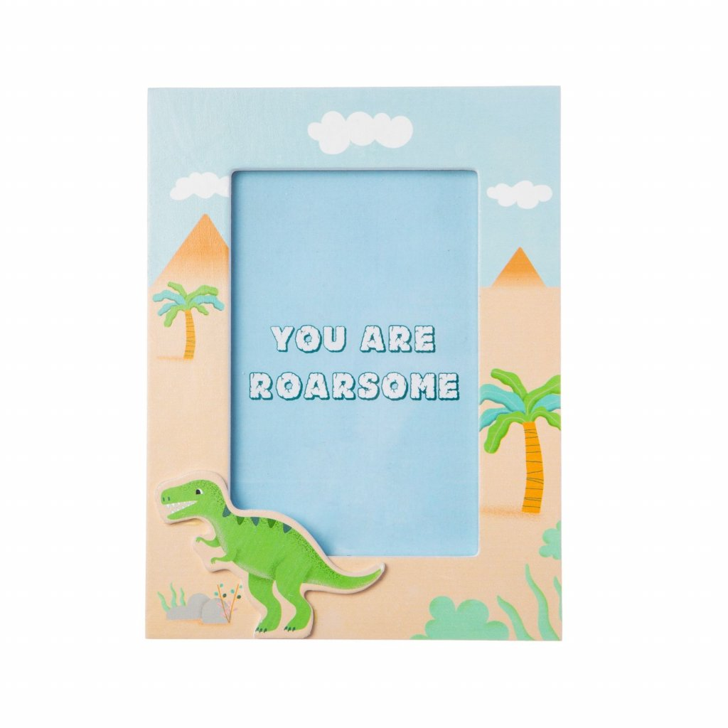LDW189 A Dinosaurs Frame YouAreRoarsome Front