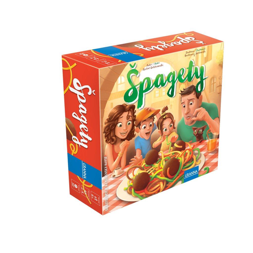 spagety krabice