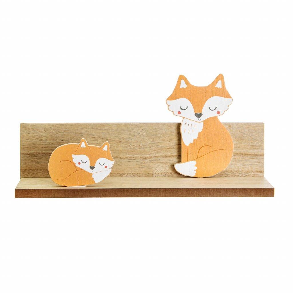 IFF014 A Woodland Friends Fox Shelf Front