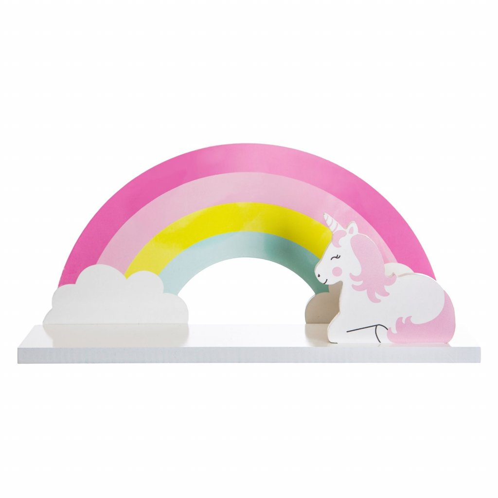 IFF013 A Rainbow Unicorn Shelf Front