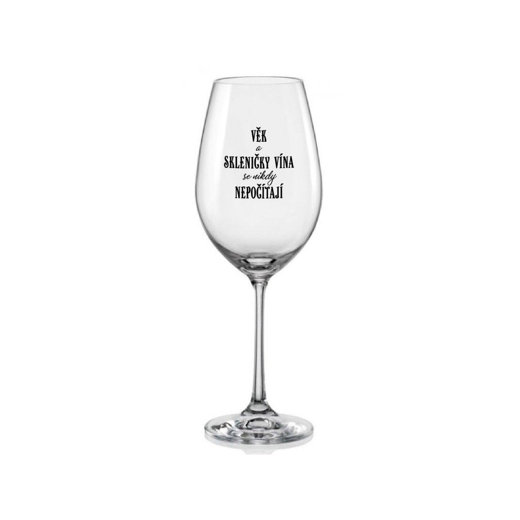 sklenice na vino vek a sklenicky vina se nikdy nepocitaji