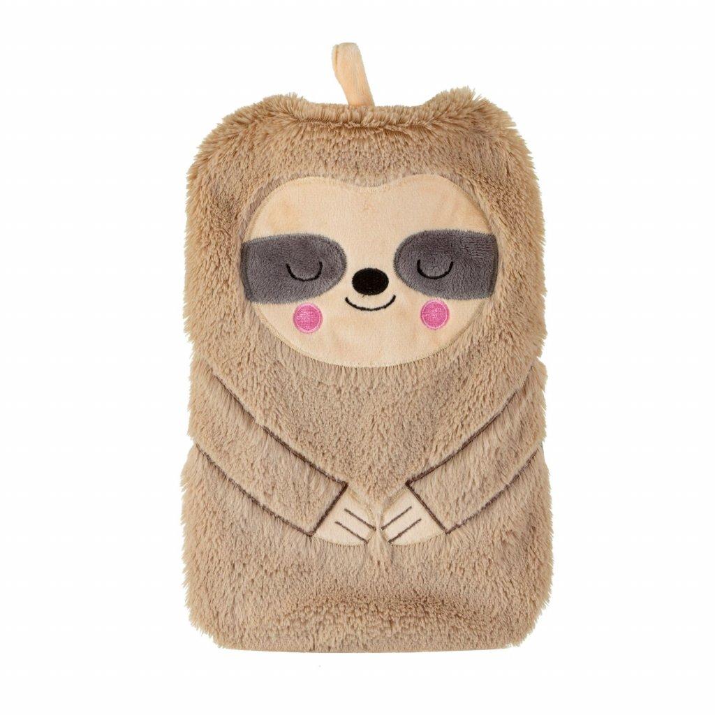 BRU001 A Sloth Hot Water Bottle Front