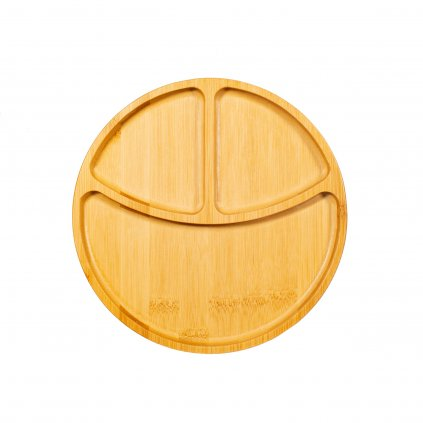 JQY033 A Bamboo Section Plate (1)