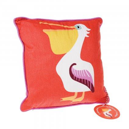 1329 detsky cerveny polstar s pelikanem
