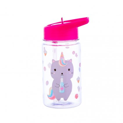 1485 4 zip026 a caticorn waterbottle front