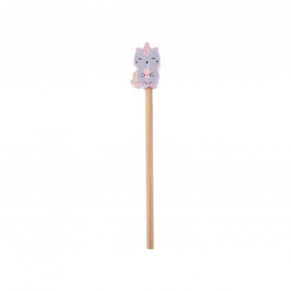 GP021 A Luna Caticorn Pencil With Eraser Topper