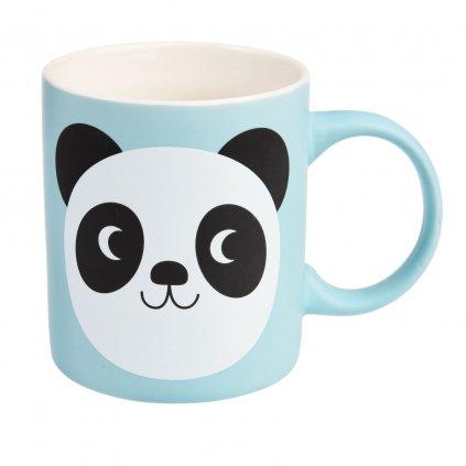 1779 4 1779 2 modry keramicky hrnicek s motivem pandy miko the panda 350ml